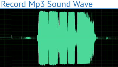 Record Mp3 Sound Wave