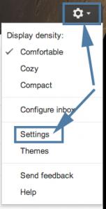 Gmail Masquerade Step 1