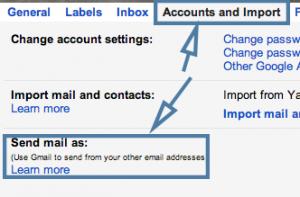 Gmail Masquerading Step 2