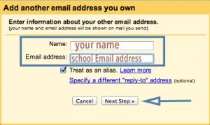 Gmail Masquerade step 3