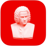 Red Hot Bach App Icon